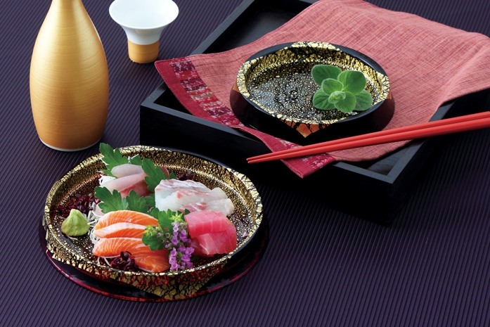 SASHIMI GLASS PLATE